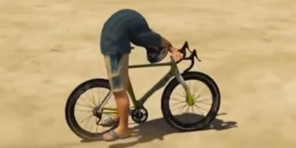 GTA V Bike Yoga Glitch