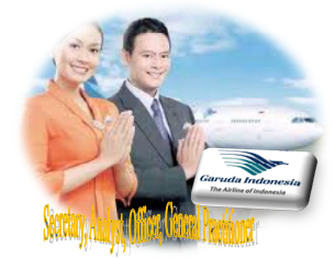 Garuda Indonesia Persero Jobs Recruitment Secretary, Analyst, Officer, General Practitioner July 2012