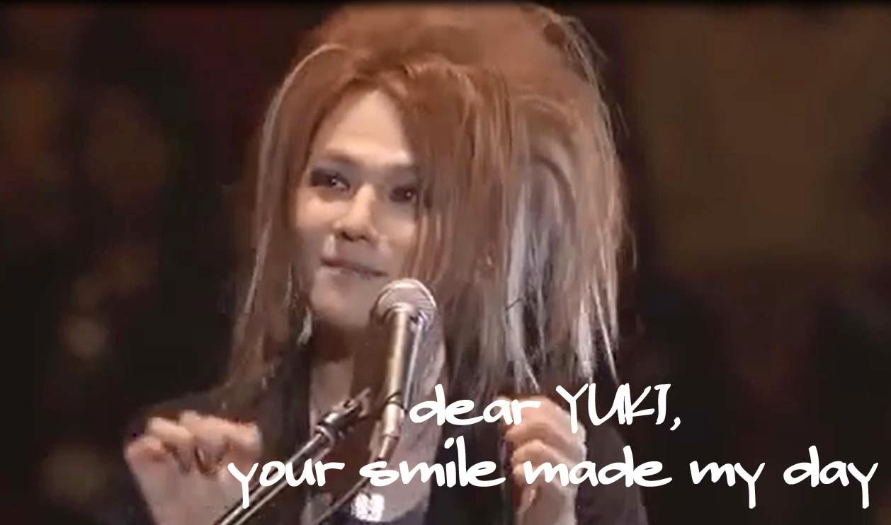 YUKI's smile is adorable =D