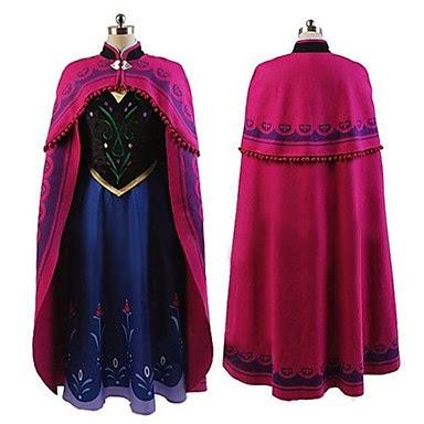 Cosplay Frozen Princesa Anna de Arendelle