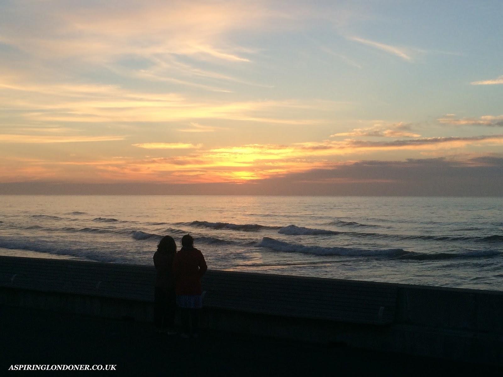 Sunrise Roker Beach Sunderland - Aspiring Londoner