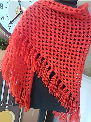 Вязанье шарф косынка крючок