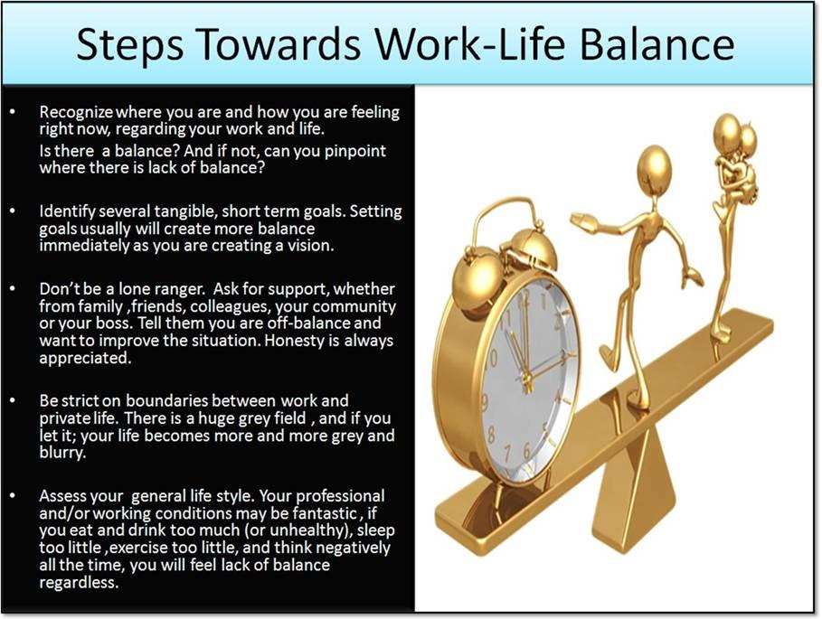 flextime policies achieve better work life balance management essay Here are 8 ways to achieve better work life balance:  inquire about your company's policies on flextime and working from home if you're a strong performer, you have a better chance of.