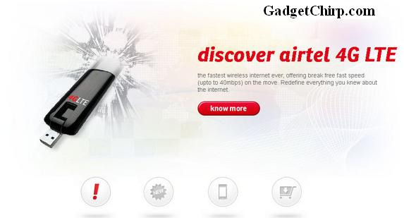 Airtel 4G LTE website goes live finally, pricing & features available
