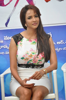 Lakshmi Manchu Pictures in Short Dress at Dongata Movie Logo Launch