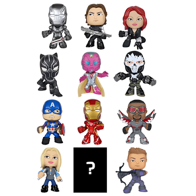 Captain America: Civil War Mystery Minis Blind Box Series by Funko