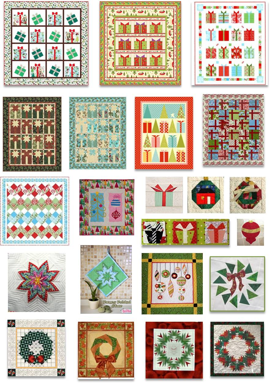 Christmas Quilting Patterns Free : Quilt Inspiration: Free pattern day! Christmas: Part 2