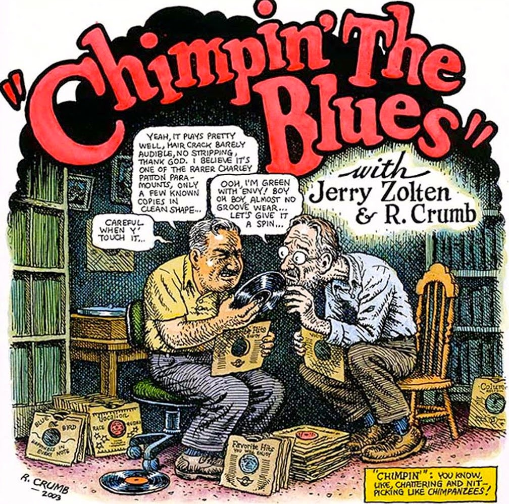Robert Crumb & Jerry Zolten, Chimpin' the Blues