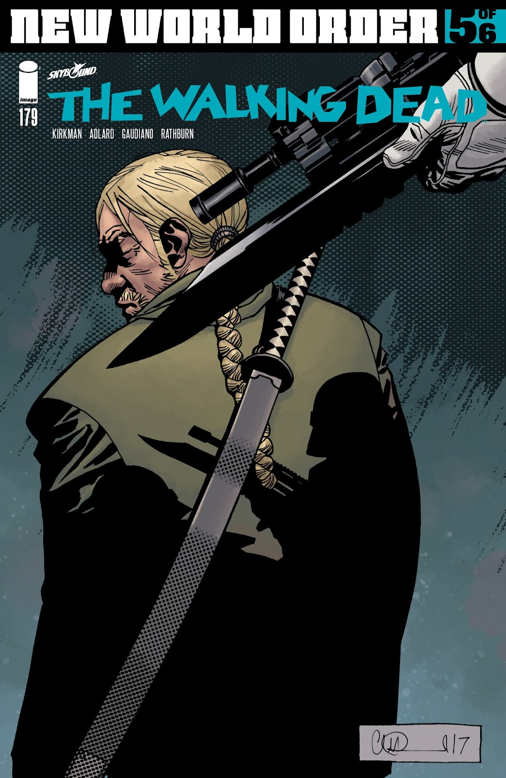 The Walking Dead Issue #179 Page 1