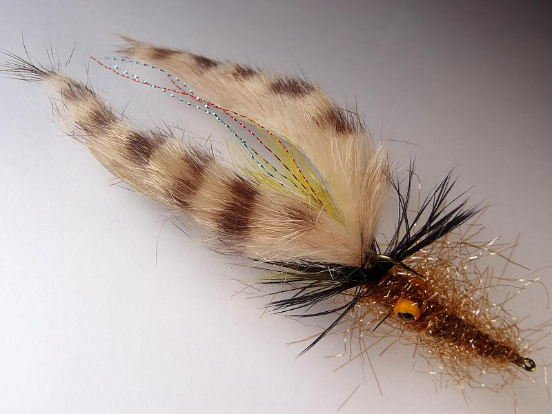 RYE BREAD FLY FISHING DRY FLIES HALF DOZEN 6 x SIZE #8