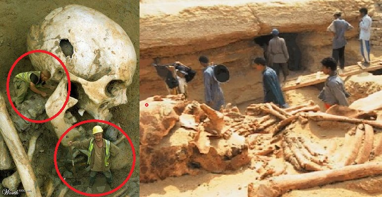 Αναζητώντας αρχαιολογικές αποδείξεις για την ύπαρξη γιγάντων