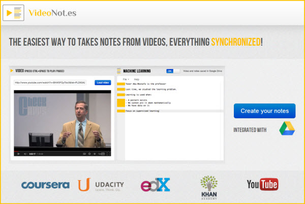 videonot-notas-google-drive-video-coursera-khanacademy-udacity-youtube