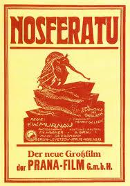 Poster original de Nosferatu, el vampiro