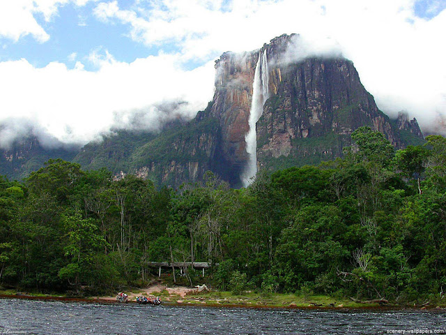 Air-Terjun-Angel-Falls-di-Venezuela