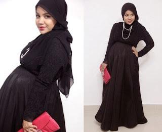 Model baju hamil muslim modern