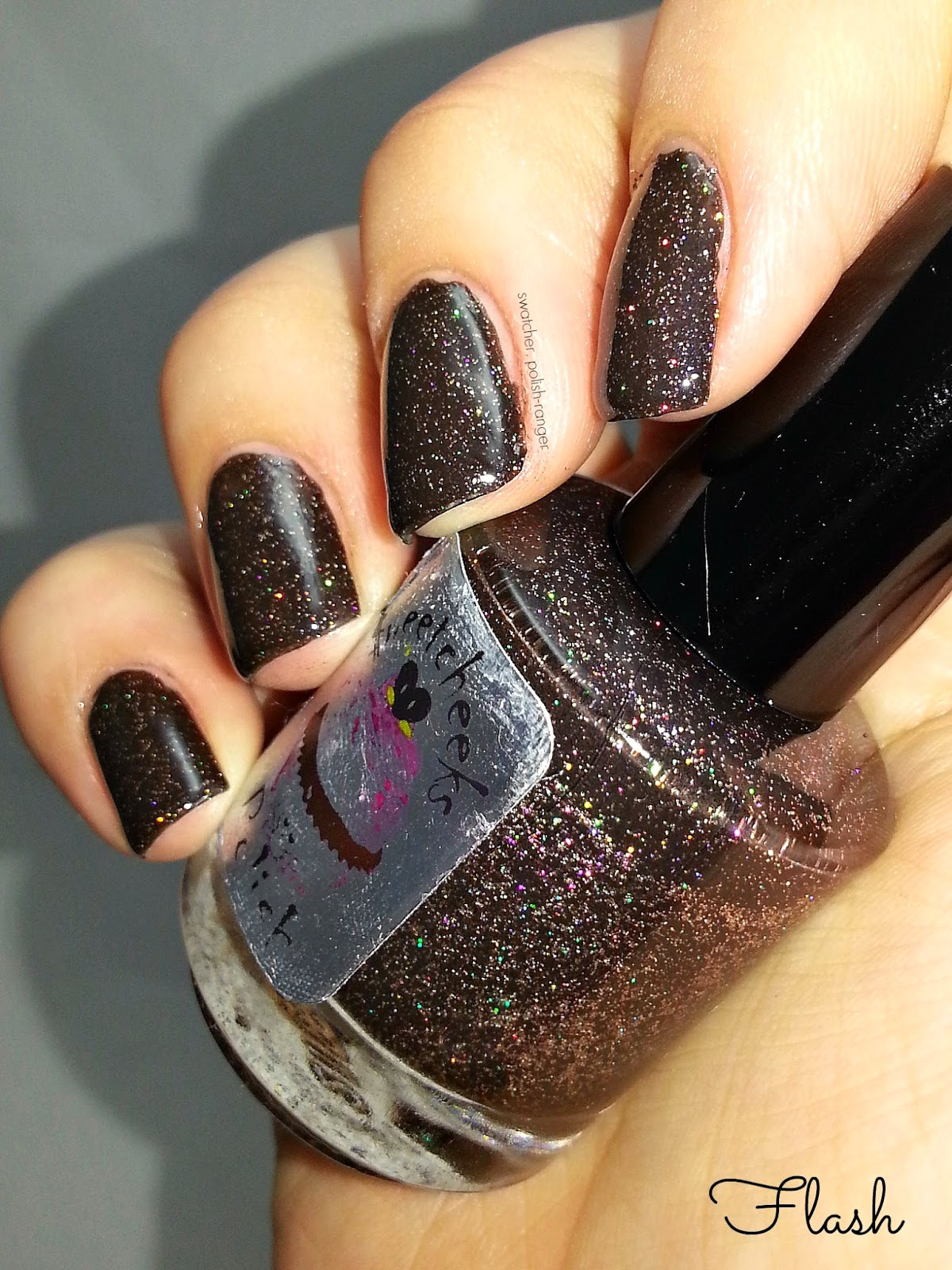 Sweetcheeks Polish Gothic Ember swatch