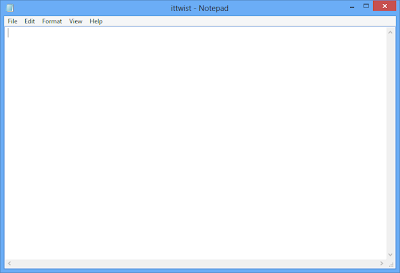 Hide Confidential Data On Notepad 5- ITTWIST