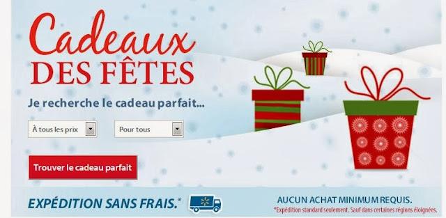 Idées cadeaux de Noël (achat en ligne) Walmart