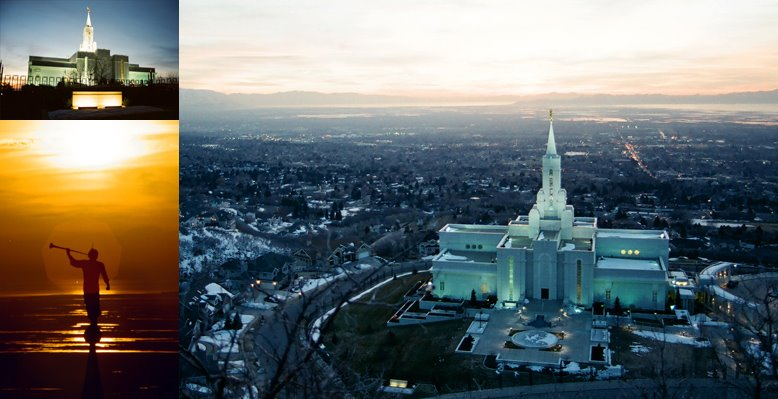 Bountiful Utah Temple, March 13, 2002