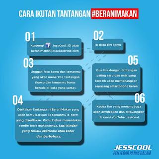 Info-Kontes-Kontes-JessCool #BeraniMakan