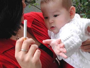 fumar, humo de segunda mano, niños y tabaco, salud