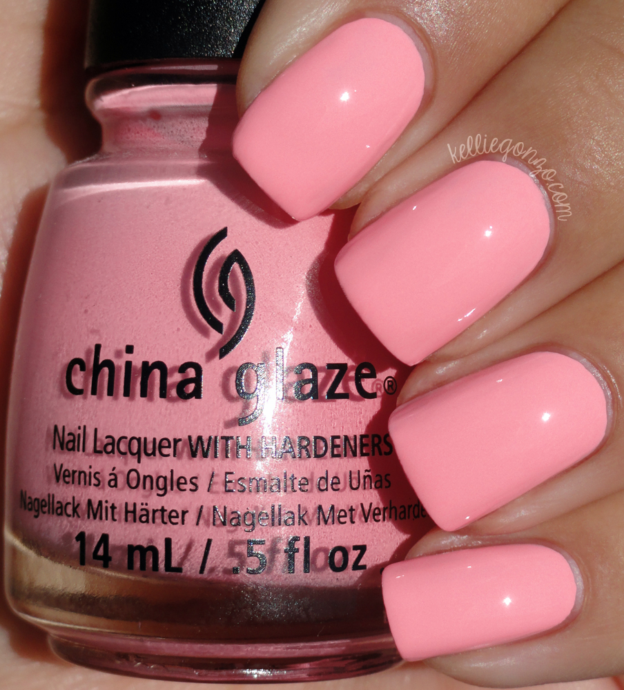 China Glaze - Feel The Breeze // kelliegonzo.com