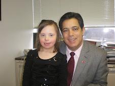 Chloe meets PA Senator Jay Costa