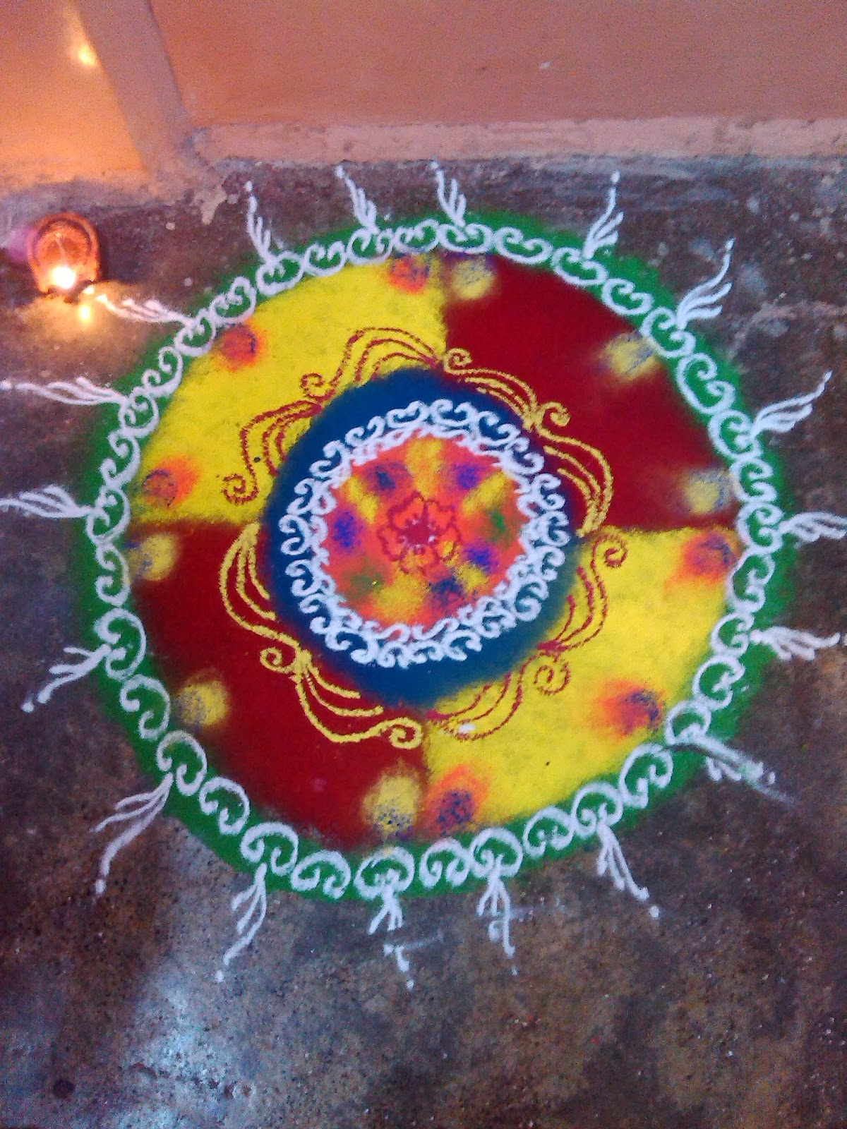 My Rangoli Designs