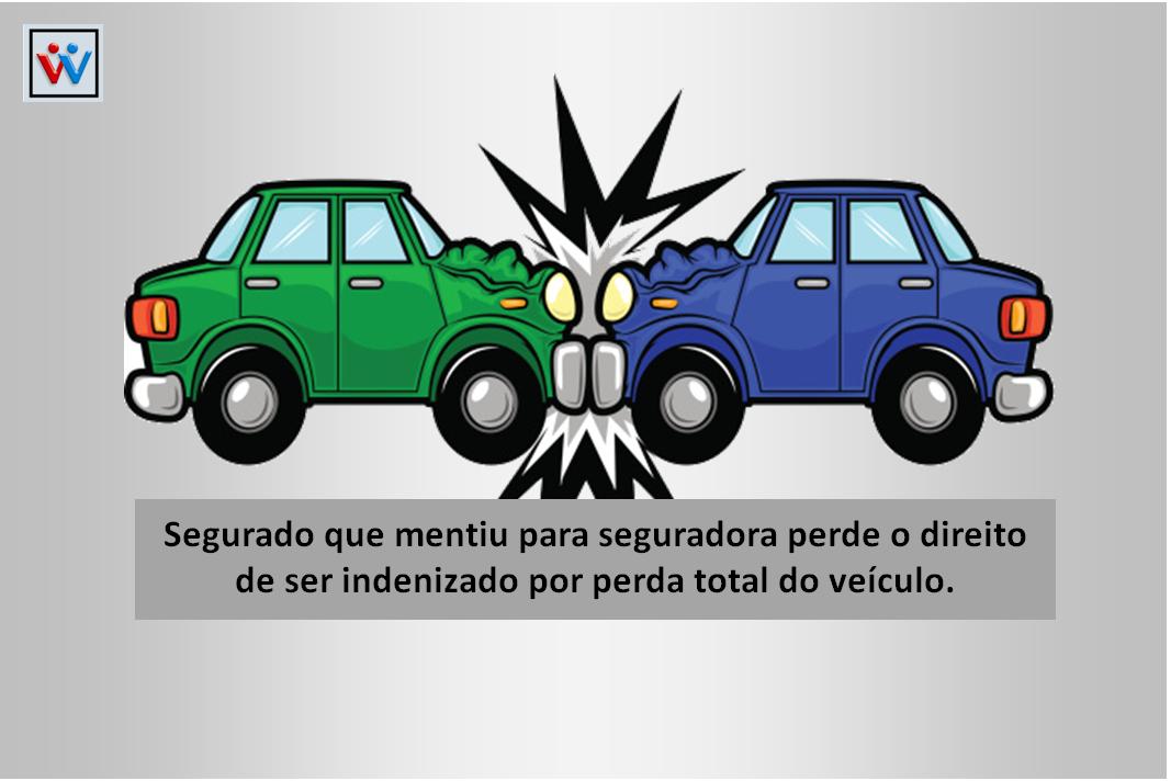 Segurado que mentiu para seguradora perde o direito de ser indenizado por perda total do veículo