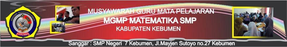 MGMP MATEMATIKA SMP KEBUMEN