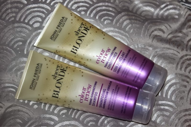 ohn Frida Sheer Blonde Colour Renew Shampoo and Conditioner
