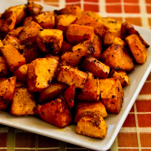 Kalyn's Kitchen®: Spicy Roasted Butternut Squash with Smoked Sweet ...