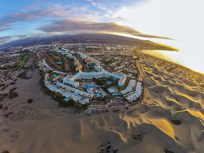 Maspalomas Sand Dunes, Spain