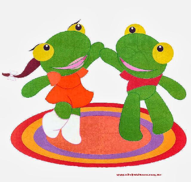 Pepe and Pepa Frog: Free Party Printables.
