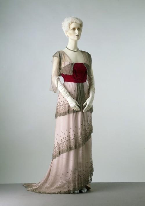 El Armario de Lady Marlo: Vestido de noche década de 1910