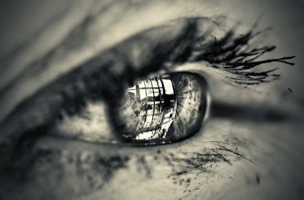 Eye Reflection Drawing Eye Drawing Reflection