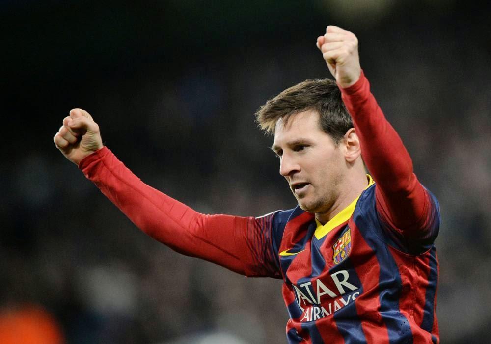 Lionel Messi cool
