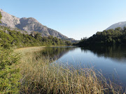 Lago Escondido, un maravilloso lago oculto en la Patagonia argentina. lago escondido