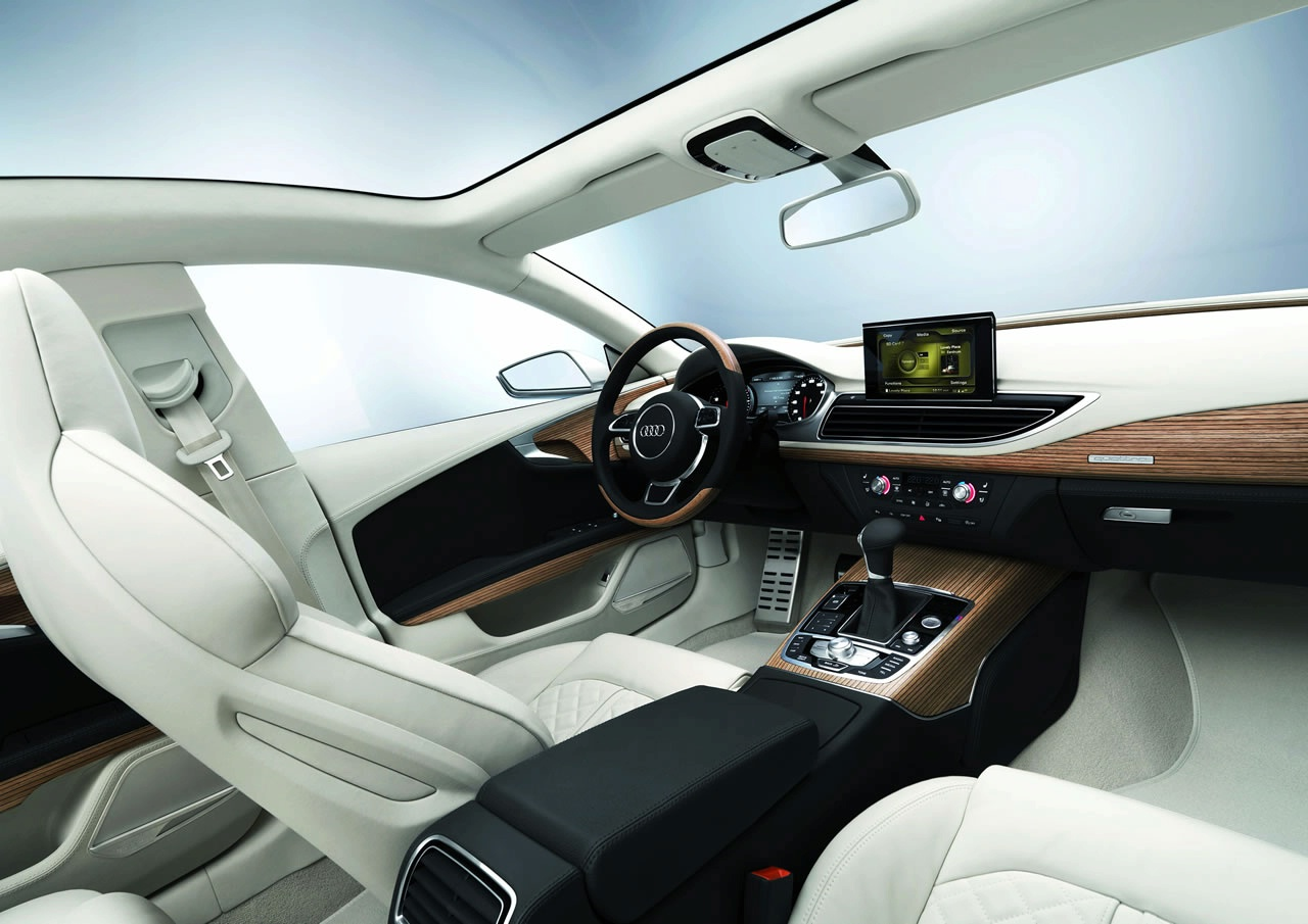 Car Magazine: Audi a7 Interior