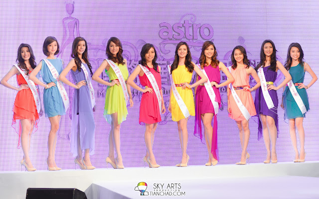 Miss Astro Chinese International Pageant 2013 Top 10 Revealed! Astro国际华裔小姐2013 10强佳丽亮相