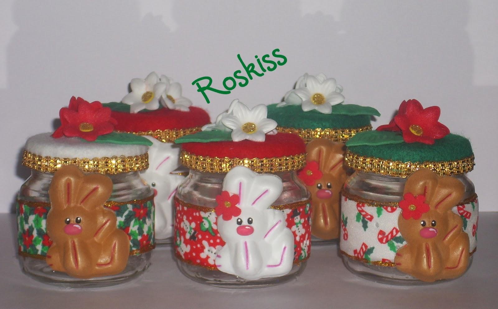 El atelier de roskiss dulceros navide os - Trabajos manuales para navidad economicos ...