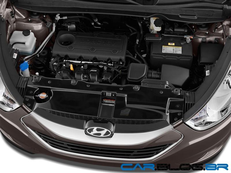Hyundai ix35 2013 Flex (Automática) versão intermediária - R$ 107