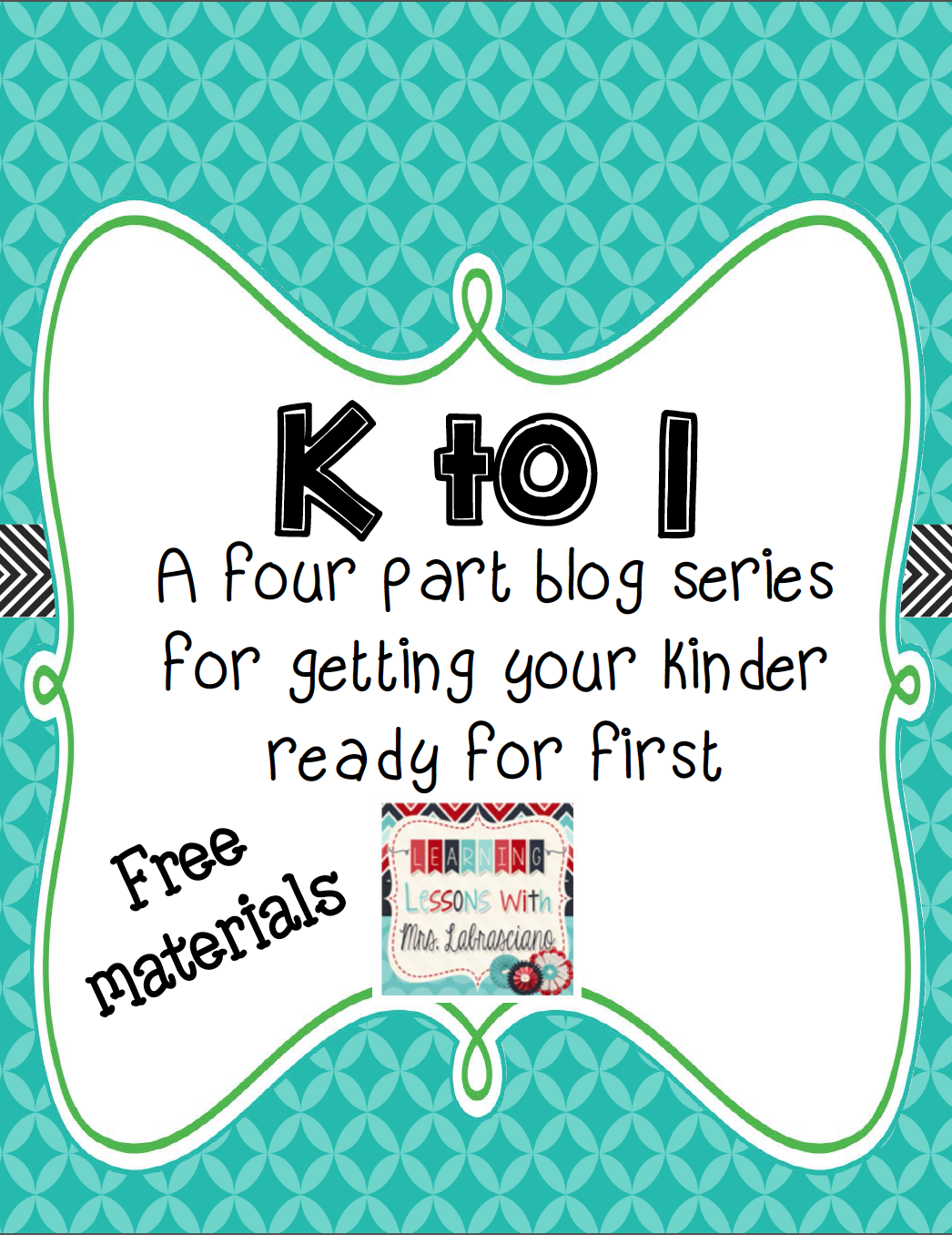 K to 1 Reading Readiness Pack