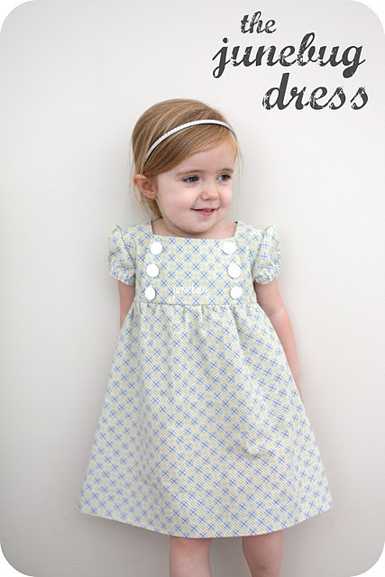 junebug dress girls sewing diy tutorial Free Girls Dress Sewing Patterns