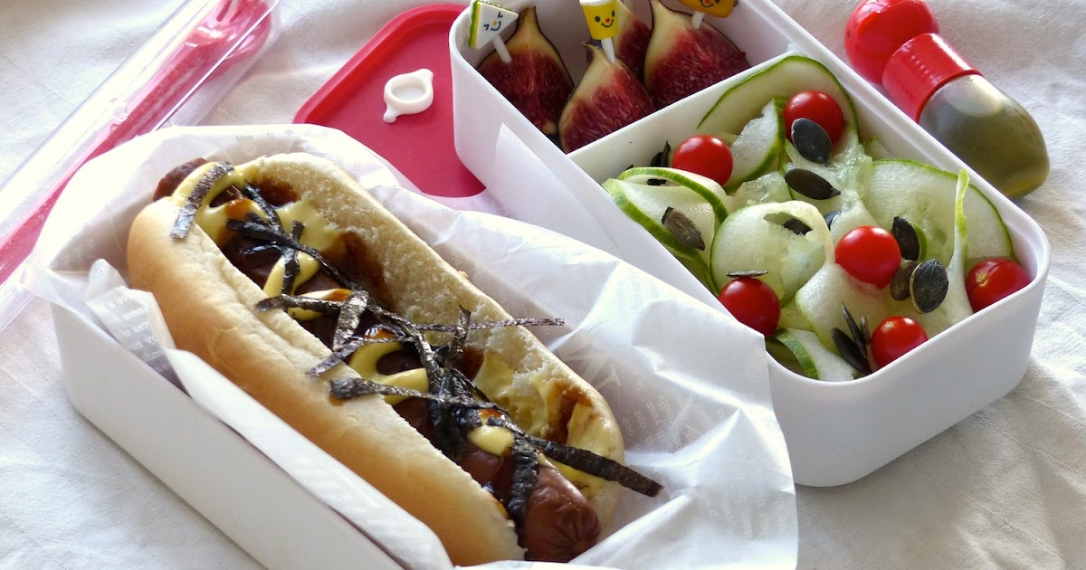 hot dog style japonais recettes pour mon bent. Black Bedroom Furniture Sets. Home Design Ideas
