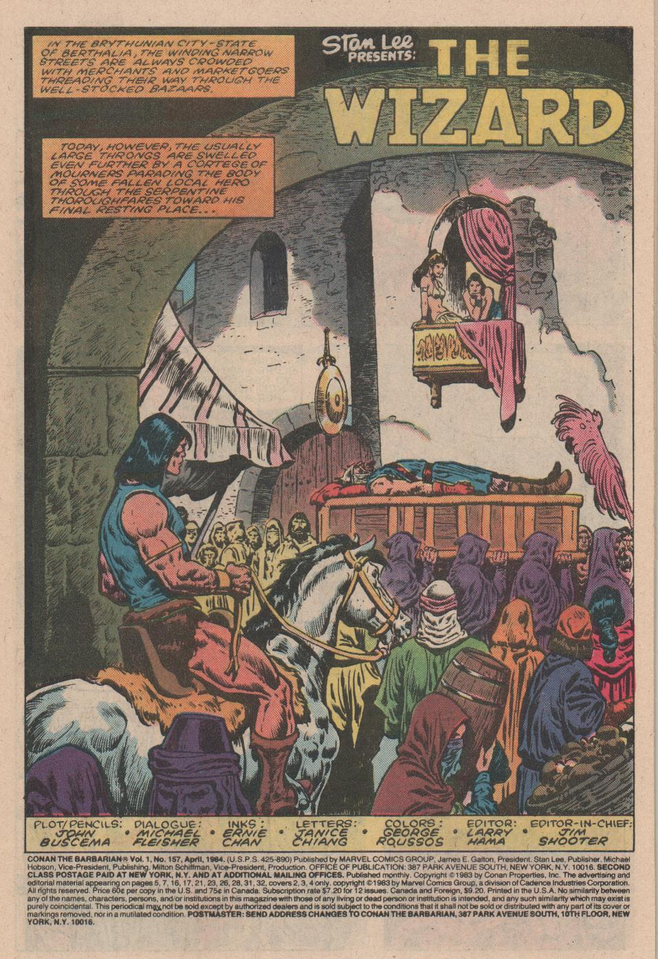 Conan the Barbarian (1970) Issue #157 #169 - English 2