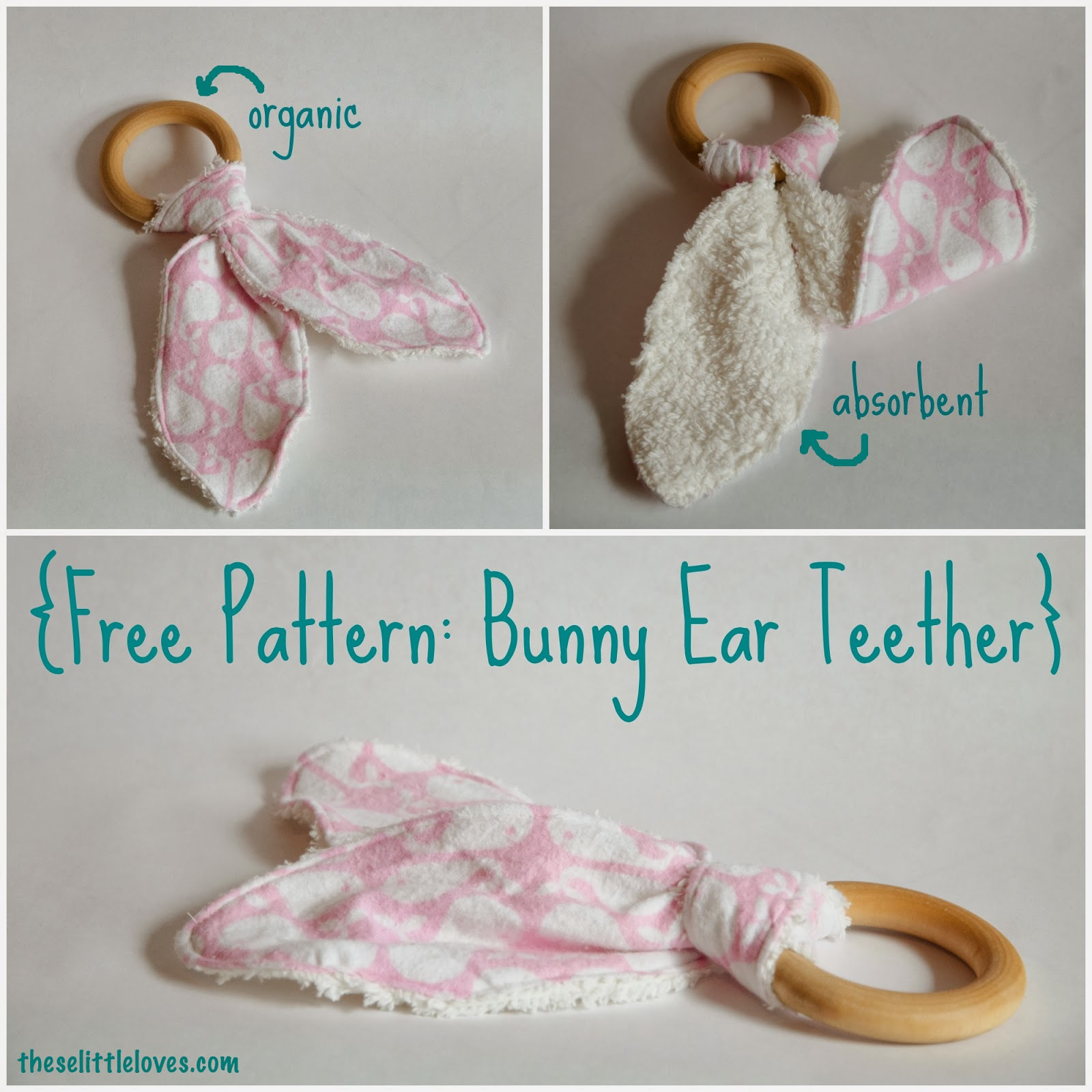 These Little Loves Free Pattern Washable Bunny Ear
