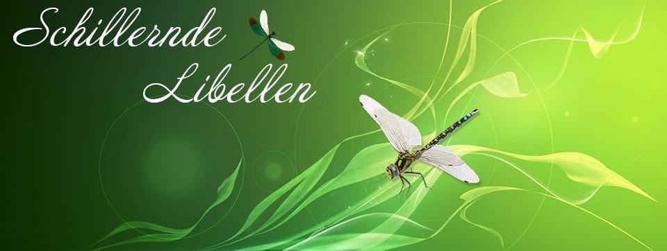 schillernde Libellen