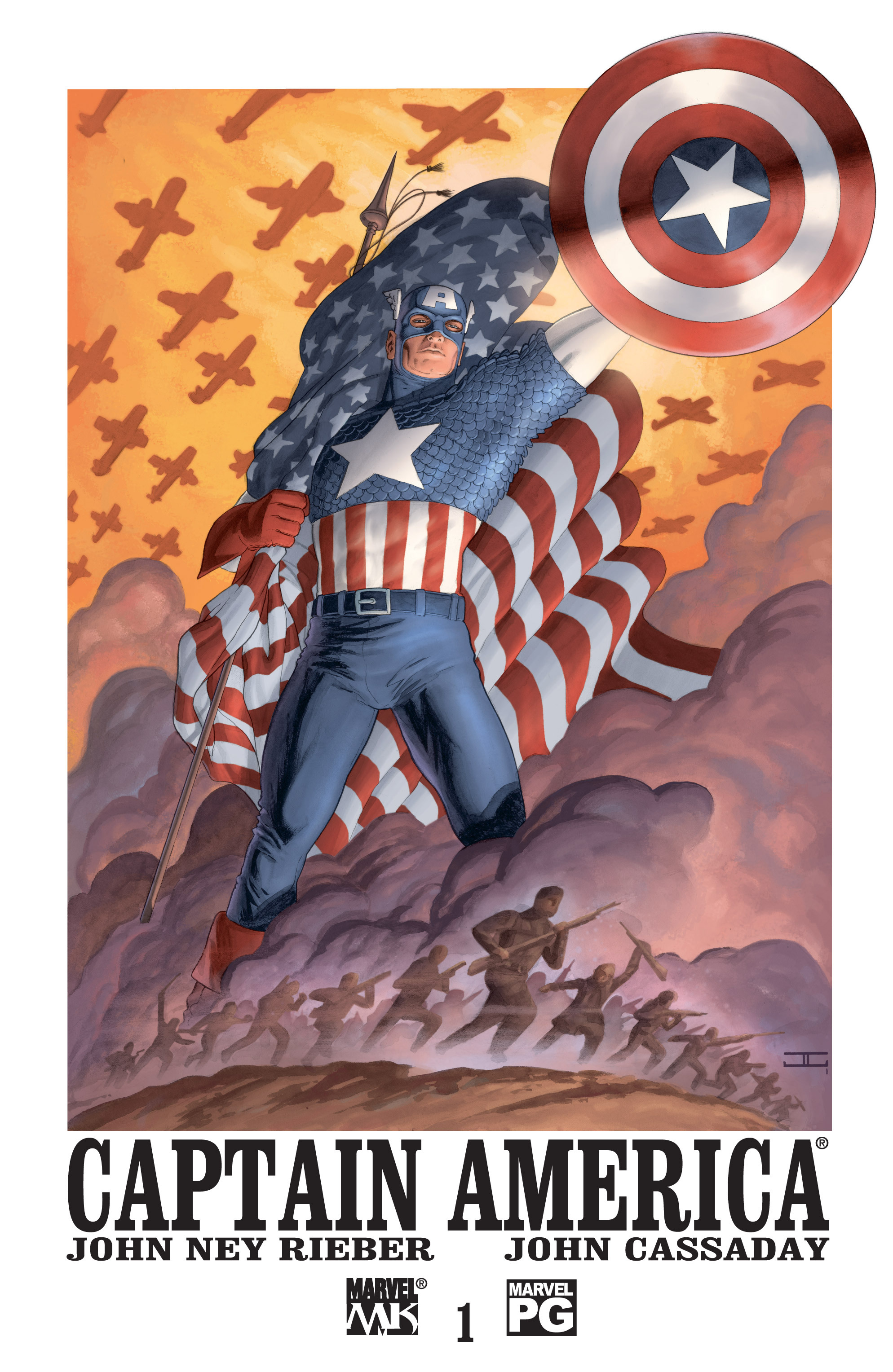 Captain America (2002) Issue #1 #2 - English 1