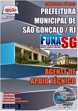 Apostila FUNASG Concurso Prefeitura de São Gonçalo (RJ) 2014.